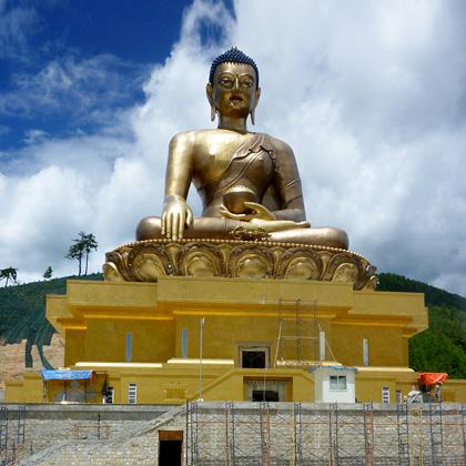 Buddha Dordenma statue Bhutan. Arc Consulting Partners