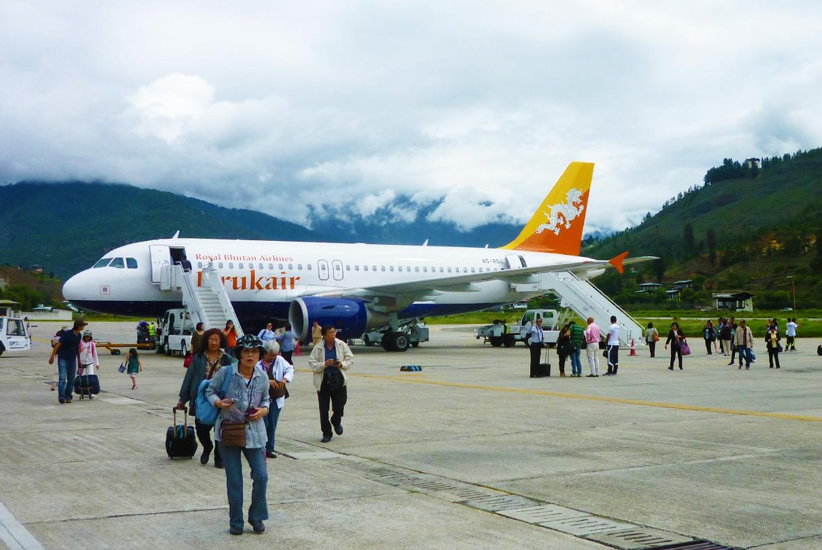 Thimphu Airport Bhutan