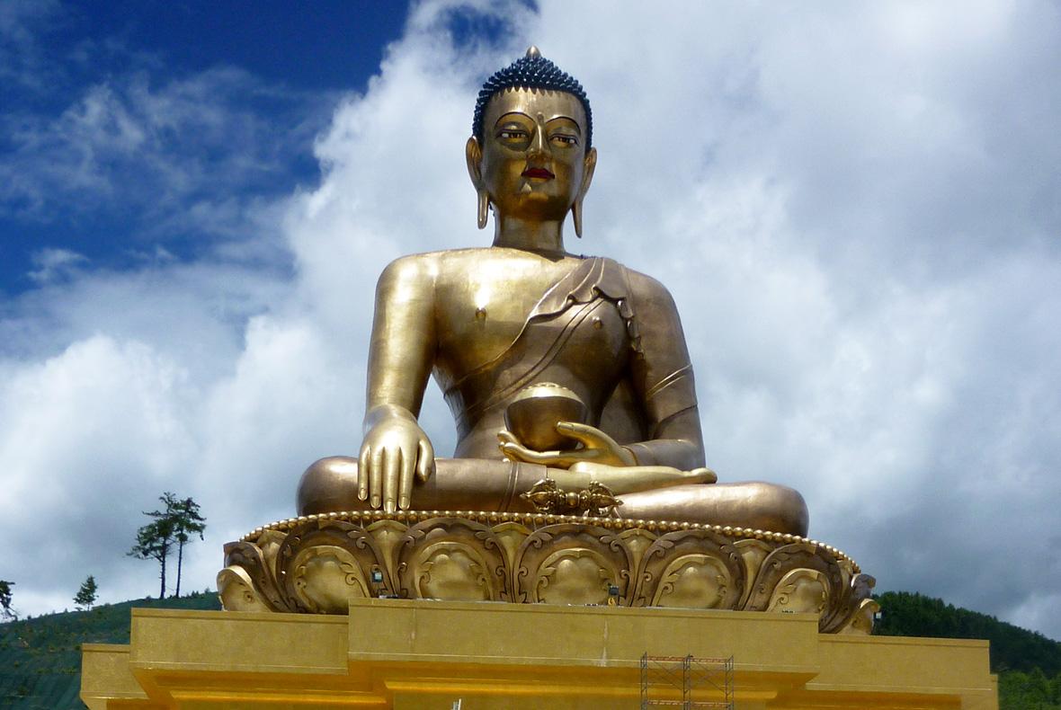 Buddha Dordenma statue in Bhutan