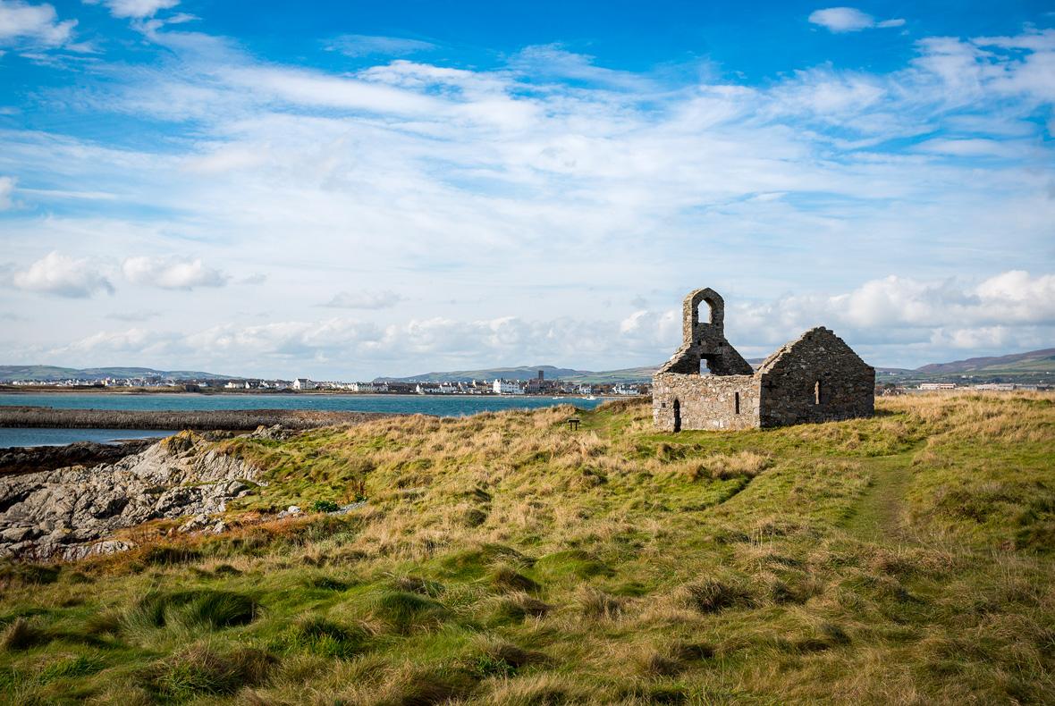 Church Ruin Isle of Man