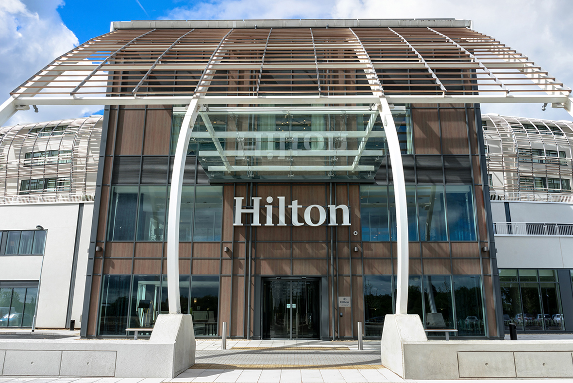 Hilton hotel at The Ageas Bowl Southampton