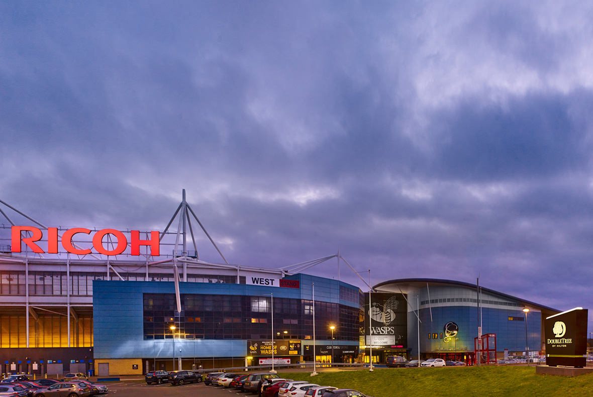 Ricoh Arena Coventry England. Wasps RFC Rugby Union